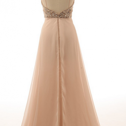 Evening Dresses Spaghetti Straps Ch..
