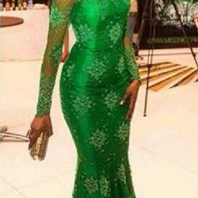 Mermaid Evening Dresses,Lime Green ..