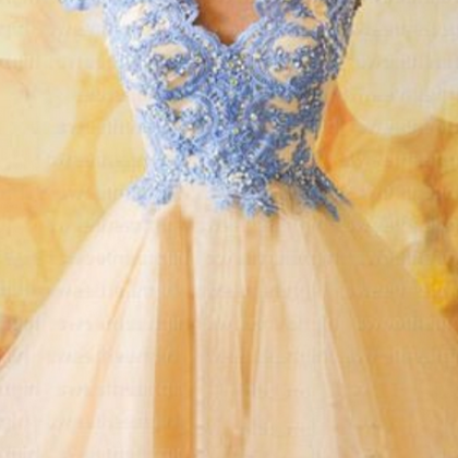 Homecoming Dress,Short Tulle Homeco..