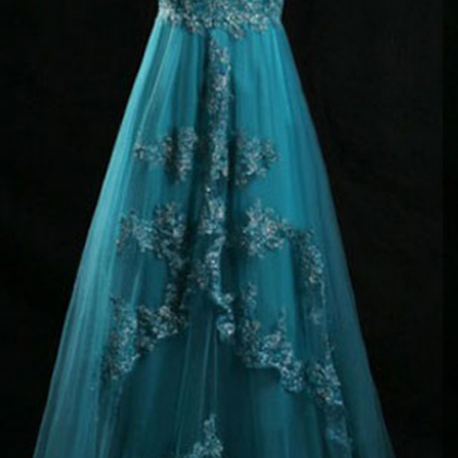 long prom dress, lace prom dresses,..