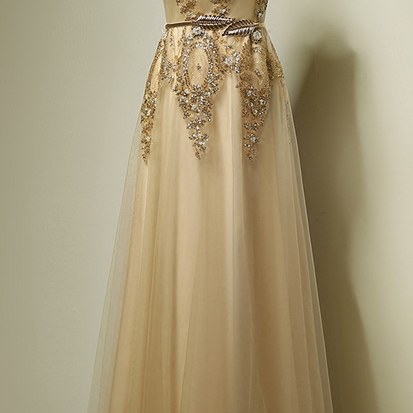 Exquisite Prom Dress,Beaded Prom Dr..