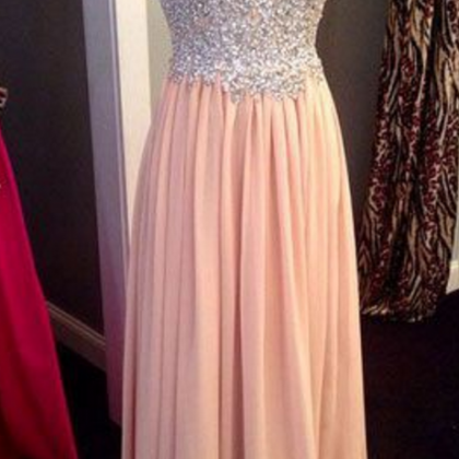 Strapless Prom Dress ,Sexy Long pro..