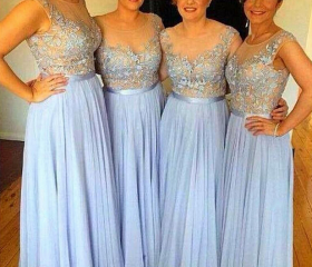 Lace Bridesmaid Dres..