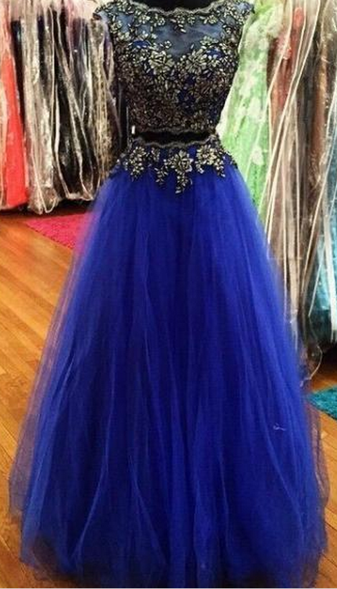 Elegant Prom Dresses,Cap Sleeve Prom Dress,Evening Dresses