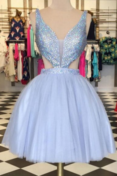 Sexy Rhinestone Homecoming Dresses, Tulle Homecoming Dresses, Sparkly Homecoming Dresses, Popular Homecoming Dresses, Short Prom Dresses, Homecoming Dresses, Sweetheart 16 Dresses