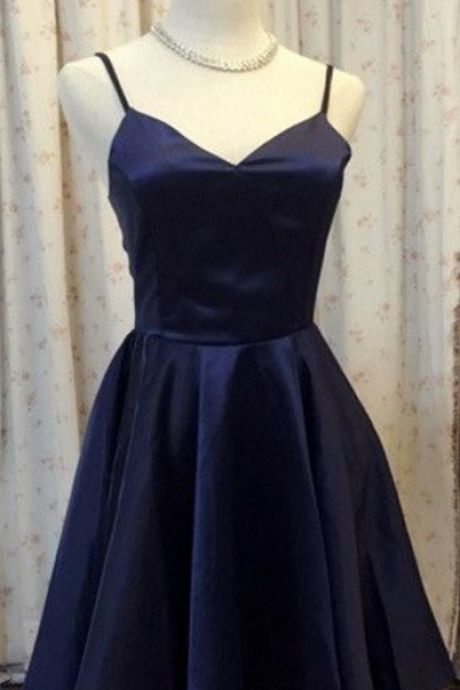 Homecoming Dresses, Homecoming Dresses, Navy Blue Homecoming Dresses, Cheap Homecoming Dresses, Juniors