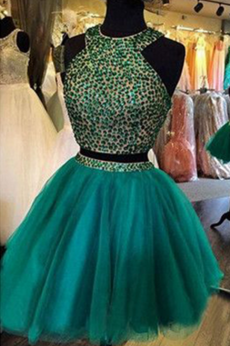 Homecoming Dresses,Two Pieces Homecoming Dresses,Organza Homecoming Dresses,Juniors Homecoming