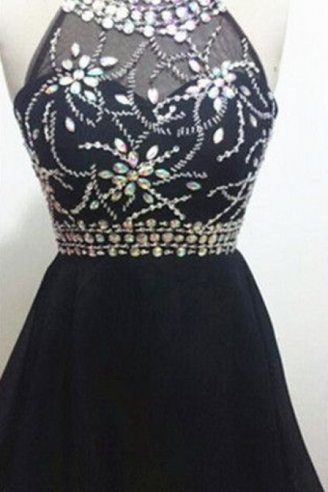 Halter Short Prom Dresses,Charming Homecoming Dresses,Homecoming Dresses, Short Homecoming Dresses,
