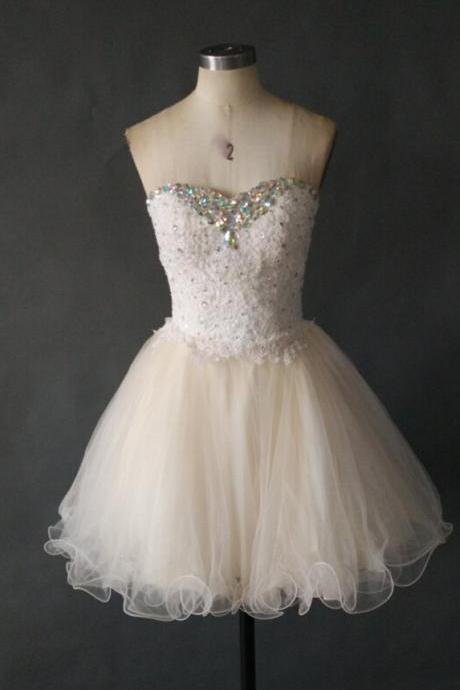 Lovely Short Tulle Homecoming Dress, Party Dress, Cocktail Dress