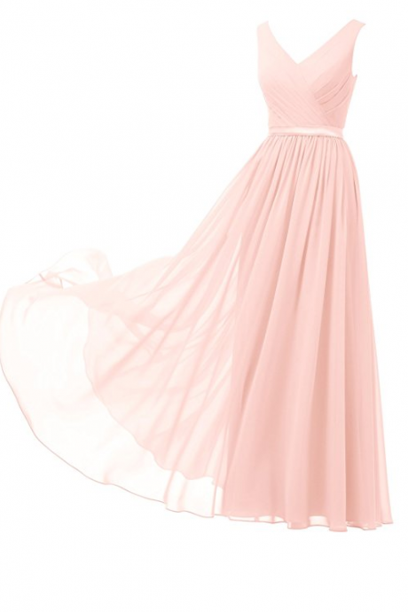 Bridesmaid Dresses,A Line Bridesmaid Dresses,Chiffon Bridesmaid Dresses,Long Bridesmaid Dresses,Bridesmaid
