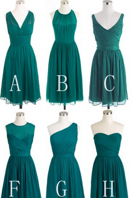 short bridesmaid dresses,mismatched bridesmaid dresses,teal bridesmaid dresses,cheap bridesmaid