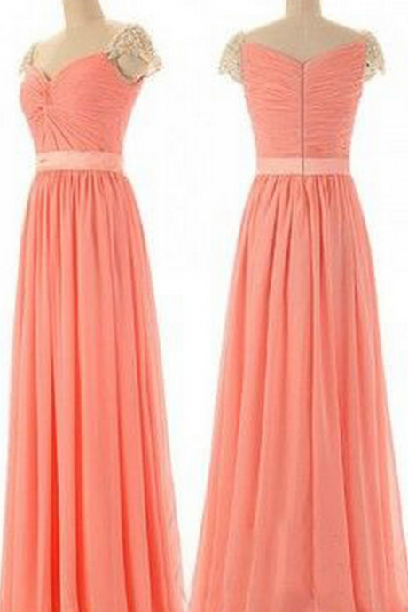 Charming bridesmaid dress, Chiffon bridesmaid dress, cheap bridesmaid dress,bridesmaid dresses,