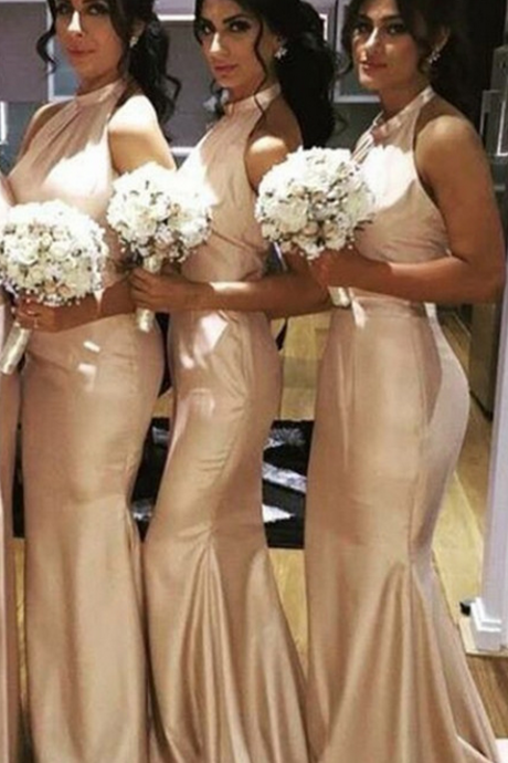 Bridesmaid dresses,Satin Bridesmaid dress