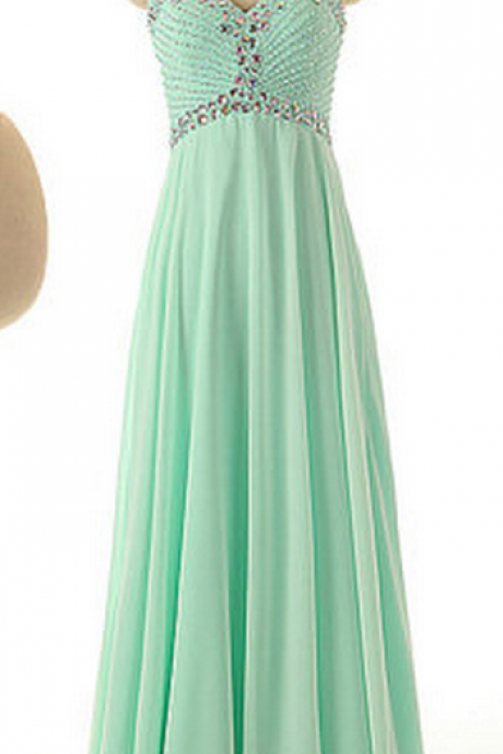 Bridesmaid dress,Bridesmaid dresses, Mint Green Bridesmaid dresses,sweetheartheart Mint Green Bridesmaid dresses withbeaded,