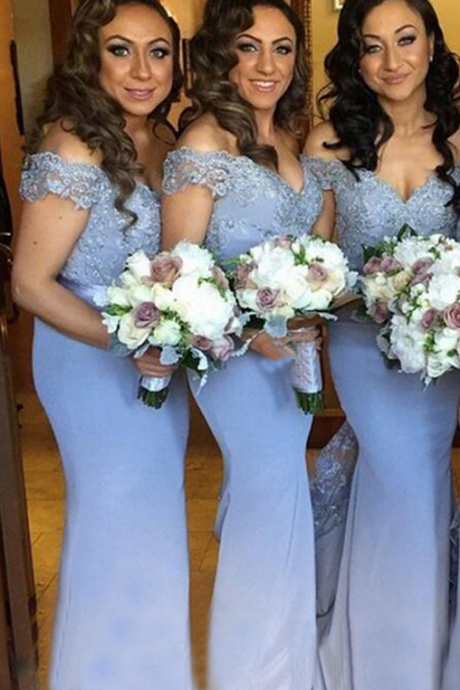 long bridesmaid dresses,off shoulder bridesmaid dresses,sweetheart bridesmaid dress