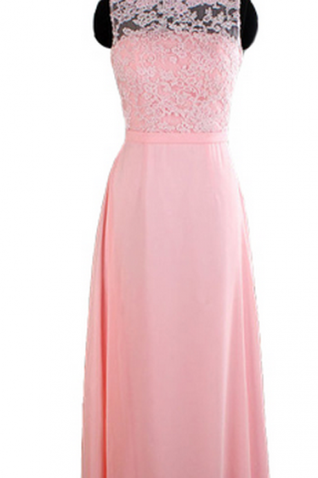 pink bridesmaid dresses, long bridesmaid dresses, lace bridesmaid dresses, backless bridesmaid dresses