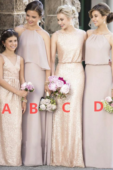 Bridesmaid Dresses,Sequined Bridesmaid Dresses,Simple Bridesmaid Dresses,New Arrival Bridesmaid Dresses,Most Popular Bridesmaid Dresses
