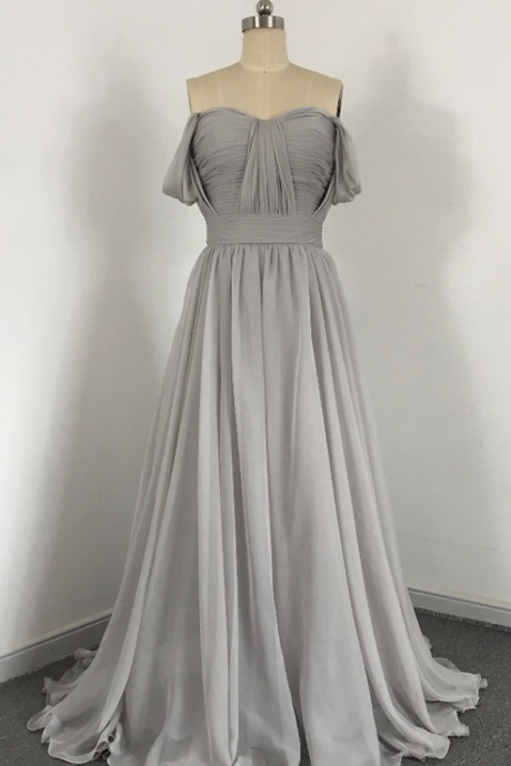 Long Bridesmaid Dress, Chiffon Bridesmaid Dress, Sweet Heart Bridesmaid Dress, Dress for Wedding, Bridesmaid Dress,