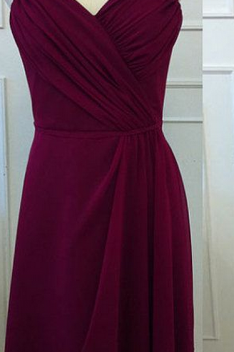 New Arrival Bridesmaid Dress,bridesmaid Dress,Short Bridesmaid Dress,A-Line Bridesmaid Dress,Chiffon Bridesmaid Dress,Dress For Prom ,Prom Dress