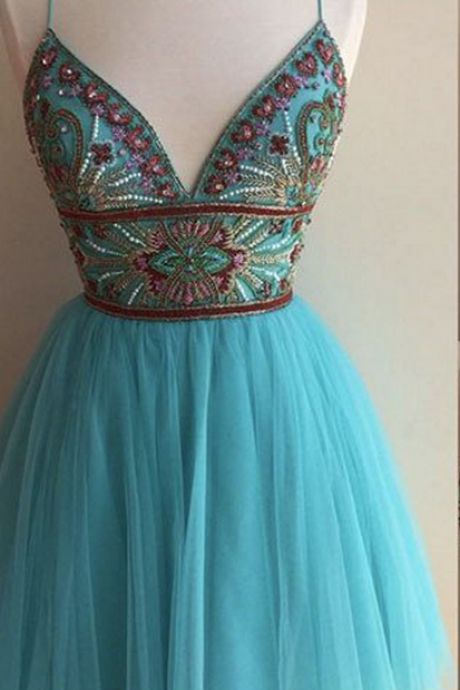 Cute Dresses,Homecoming Dress,Homecoming Dresses,V-neck Homecoming Dress,Short Homecoming Dress