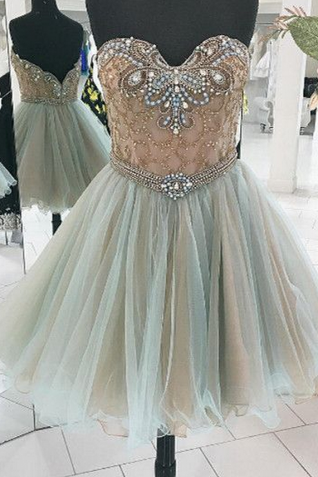 Homecoming Dress ,Short Homecoming Dresses,Tulle Homecoming Gowns,Sweet 16 Dress,