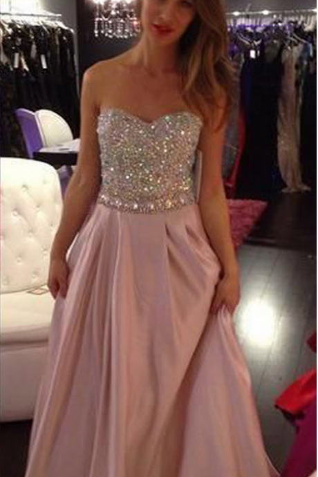 Evening Dresses ,Blush Evening Dresses, Evening Gowns, Red Carpet Dresses