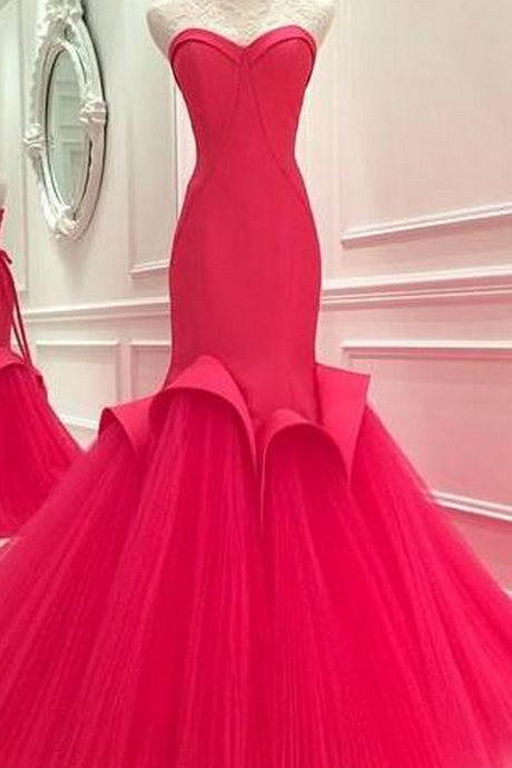 RED Prom Dresses EVENING DRESSES