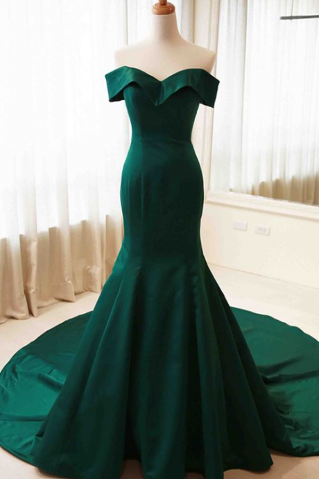 Charming Evening Dress,Mermaid Evening Dress,Formal Evening Dresses,Women Dresses
