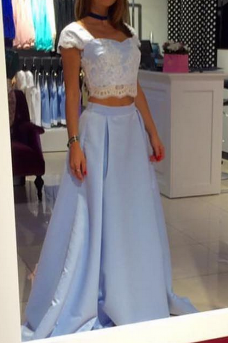 Charming Prom Dress,Sexy Prom Dresses,Cap Sleeve Evening Dress,Lace Evening Dresses,Long Homecoming Dress