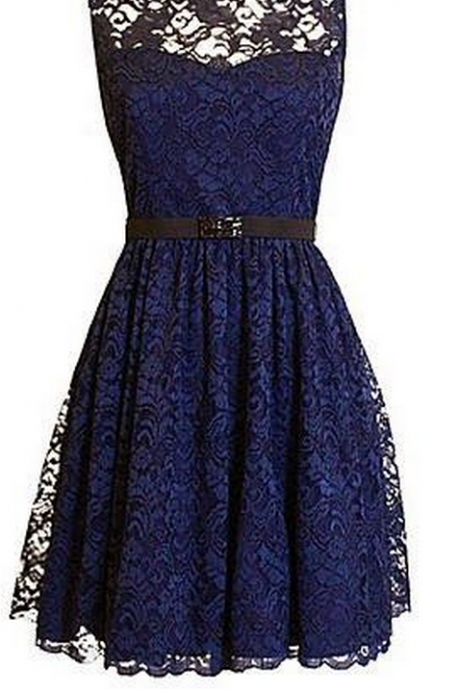 Homecoming Dresses,Navy Blue Homecoming Dresses