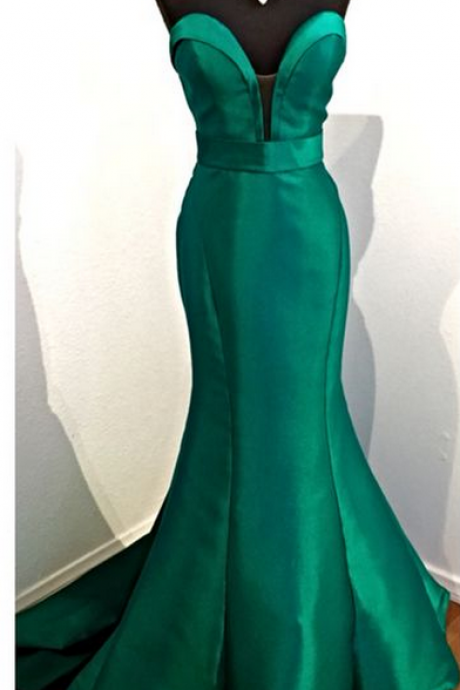 Charming Prom Dress,Green Prom Dress,Mermaid Prom Dress,Long Prom Dresses