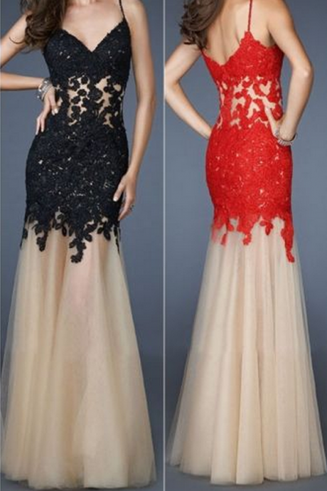 long prom dress, black prom dress, off shoulder prom dress, elegant prom dress, red prom dress,