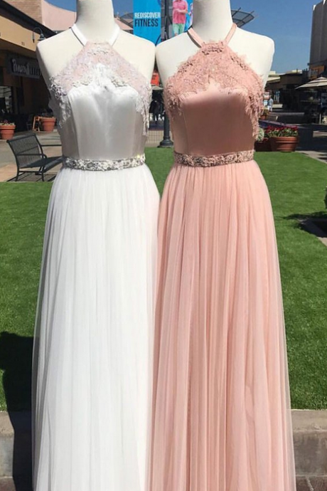 Charming Prom Dress,Sexy Prom Dresses,Lace Evening Dress unique tulle lace long prom dress