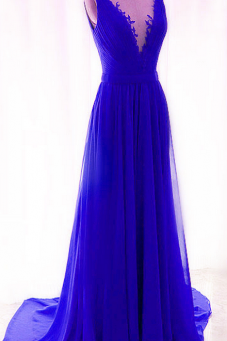 red prom dresses,v neck evening gowns,royal blue evening dress,sexy prom gowns,prom dresses