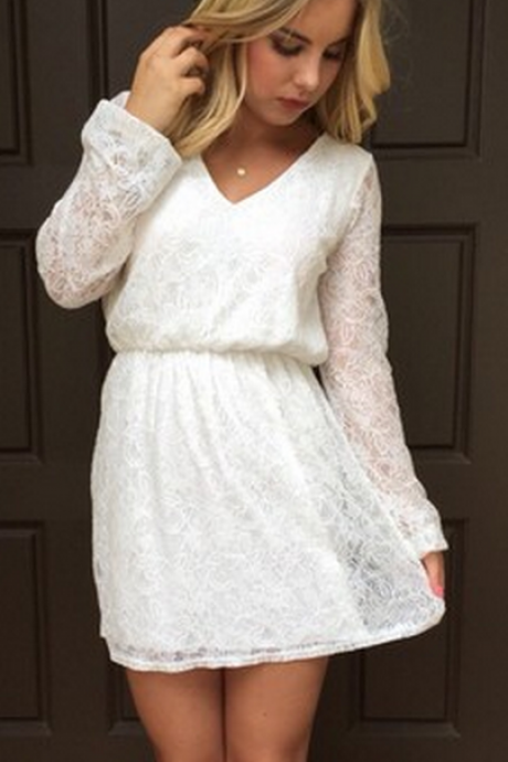 White Prom Dress,Pencil Prom Dress,Long Sleeve Prom Dress,Fashion Homecoming Dress,Sexy Party Dress,