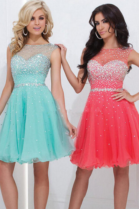 Custom Made Short Beading Homecoming Dress, Short Prom Dress, Sexy Homecoming Dress