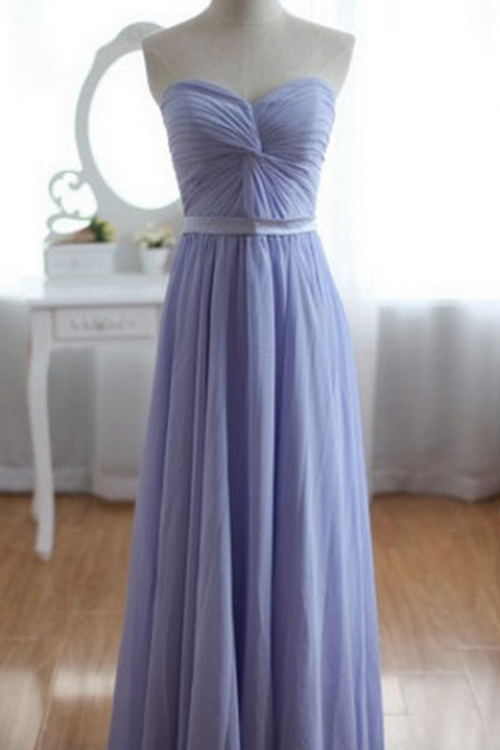 long bridesmaid dress, sweet heart bridesmaid dress, popular bridesmaid dress,