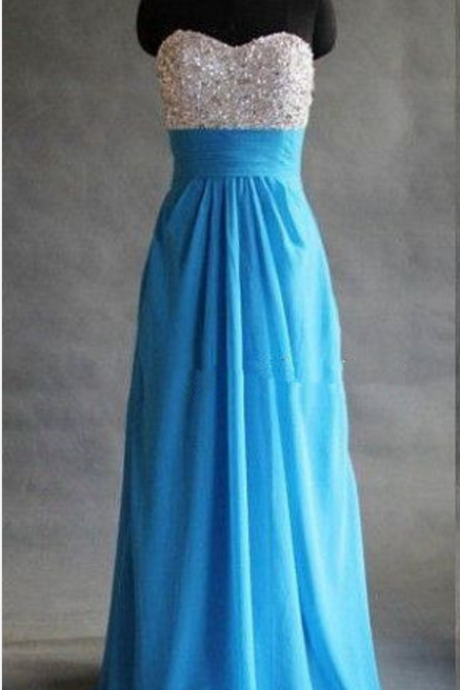Charming Prom Dress,Elegant Prom Dress,A Line Chiffon Prom Dresses,Long Evening Dress,Formal Dress