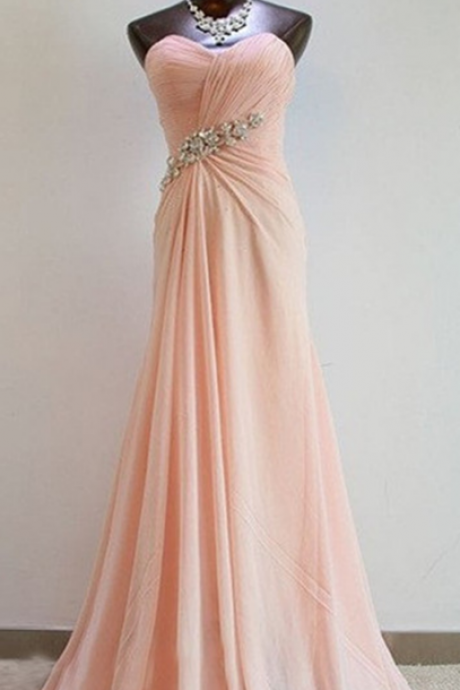 Sexy Prom Dress, Pretty Light Pink Sweetheart Prom Dresses, Bridesmaid Dresses , Bridesmaid Dresses, Formal Dresses, Evening Dresses,