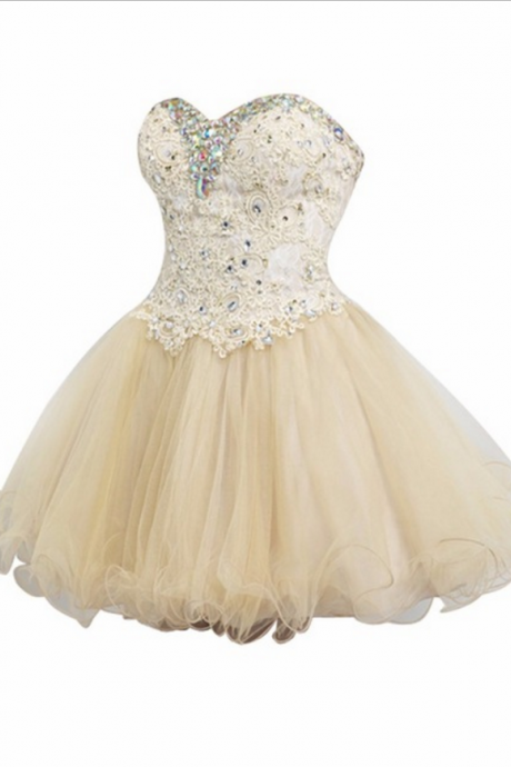 Homecoming miniature crystal scales the youth group wedding dress the love of a line and short - term light yarn