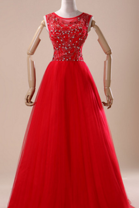 Deluxe new reality 100% sampling image and as the keynote red crystal silk pearl wedding party dress