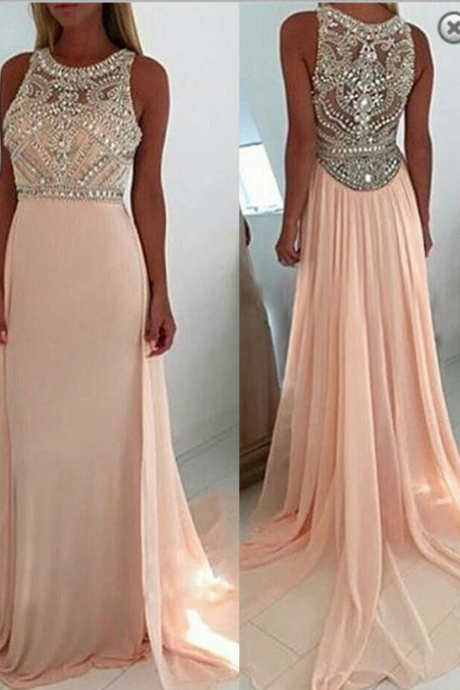 Nude Pink Homecoming Dress,Short Prom Dress,V-Neck -3126