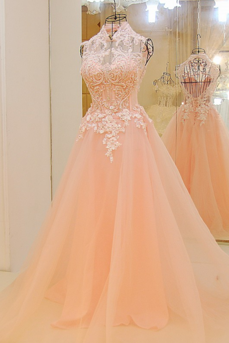 Pink Prom Dresses,Backless Prom Dresses,Long Prom Dresses,Lace Prom Dress,Sparkly Prom Dress,Evening Dresses,Beaded Dresses,Cute Dresses,Prom Dresses For Teens,Real Photo Dress,Prom Dress