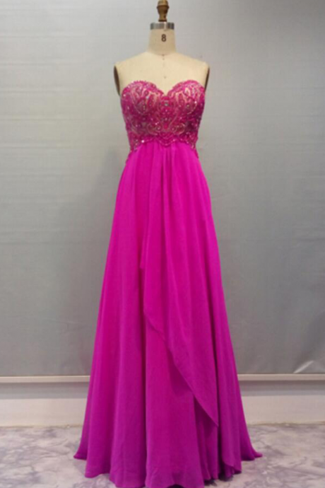 Charming Prom Dress,Elegant Chiffon Prom Dress,Long Homecoming Dresses,Sleeveless Prom Gown