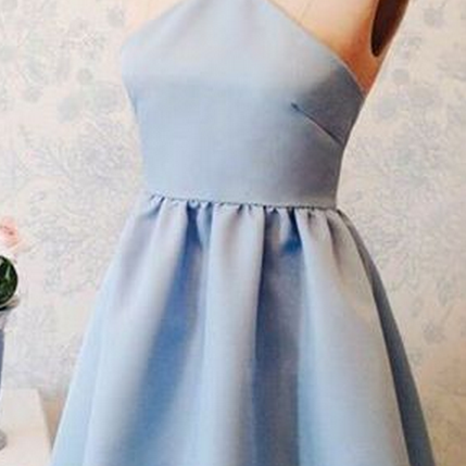 blue homecoming dresses,short homecoming dresses,satin homecoming dresses