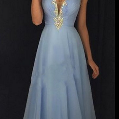 Evening Dresses,Luxury Evening Dresses,Backless Evening Dresses,Beading Evening Dresses