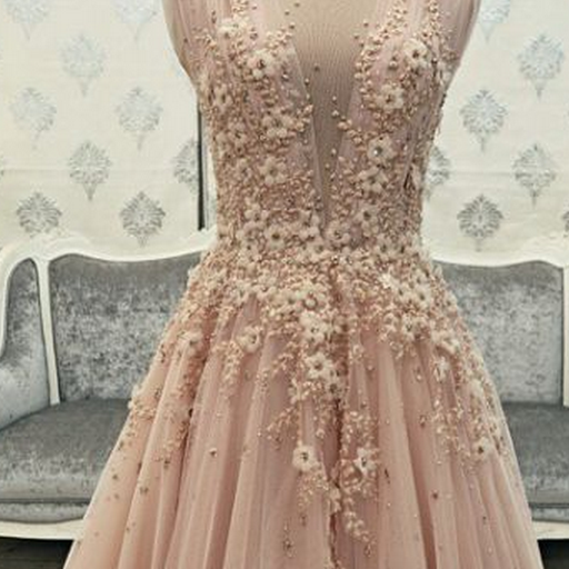 Sexy Evening Gowns,Pink Prom Dress, Pageant Prom Gown
