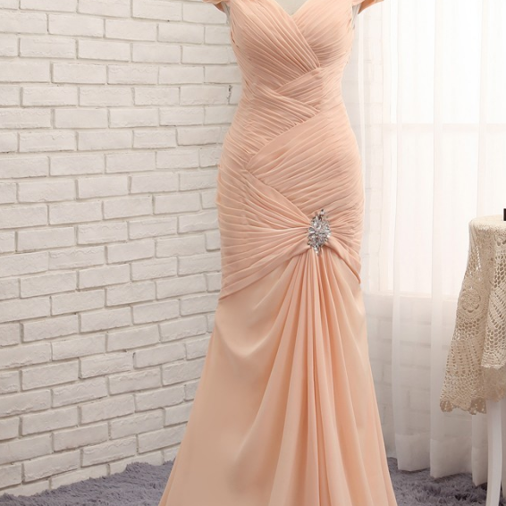 Champagne wedding night silk cape silk pleated silk pleated gown with long gown and evening gown