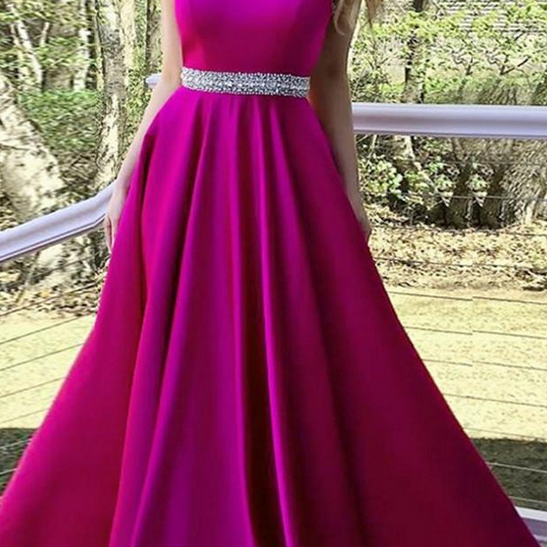 Sexy Beaded Prom Dresses Long with Pockets weet 16 dresses Sweep Train Halter Prom Dress Formal Evening Dresses For women